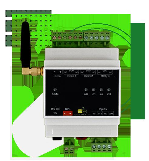 خانه هوشمند (دزدگیر، اعلام حریق، کنترل تجهیزات برقی) - مدل AMS200 10