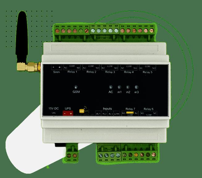خانه هوشمند (دزدگیر، اعلام حریق، کنترل تجهیزات برقی) - مدل AMS300 10