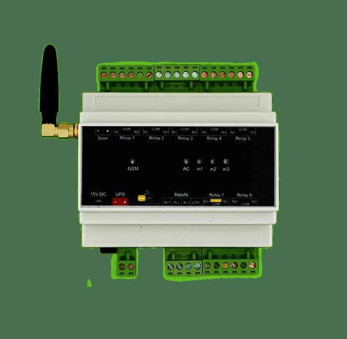 خانه هوشمند (دزدگیر، اعلام حریق، کنترل تجهیزات برقی) - مدل AMS300 4