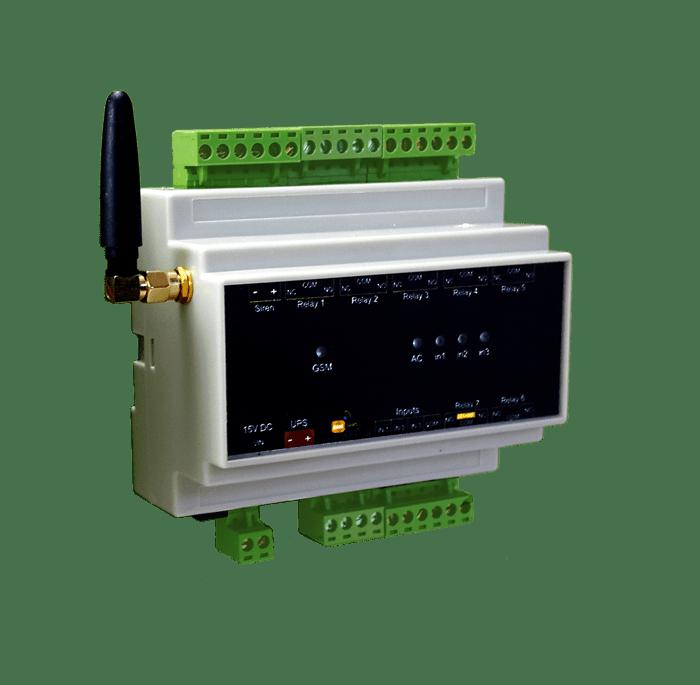 خانه هوشمند (دزدگیر، اعلام حریق، کنترل تجهیزات برقی) - مدل AMS300 3