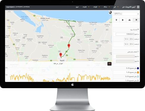 موقعیت یاب آنلاین - online GPS - فاقد سنسور دما 4