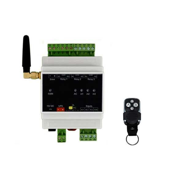 خانه هوشمند (دزدگیر، اعلام حریق، کنترل تجهیزات برقی) – مدل AMS200-R
