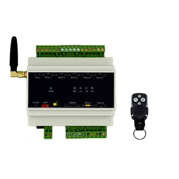 خانه هوشمند (دزدگیر، اعلام حریق، کنترل تجهیزات برقی) – مدل AMS300-R