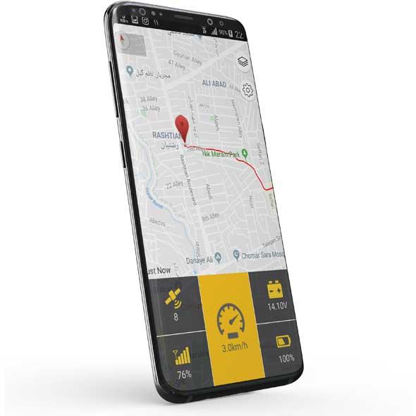 موقعیت یاب آنلاین - online GPS - فاقد سنسور دما 2