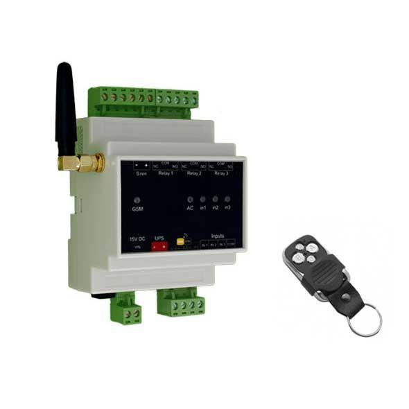 خانه هوشمند (دزدگیر، اعلام حریق، کنترل تجهیزات برقی) – مدل IoMax3-R 1